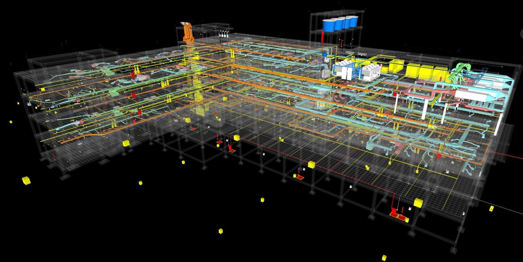 Hospital completo modelado na metodologia BIM
